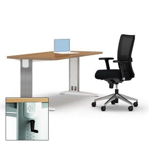 In hoogte verstelbare bureaus voor kantoor   Officecity Blog