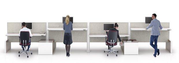 Risultati immagini per lavorare in piedi in ufficio