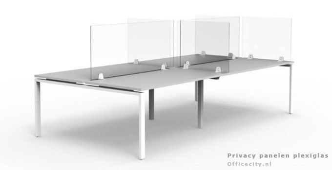 Privacy panelen plexiglas