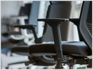 Showroom bureaustoelen